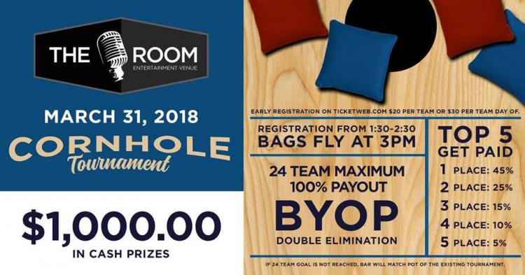 Cornhole Tournament at The Room