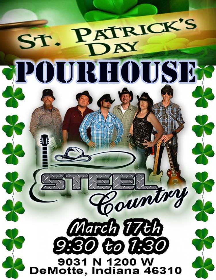 Steel Country at Pour House Bar and Grill