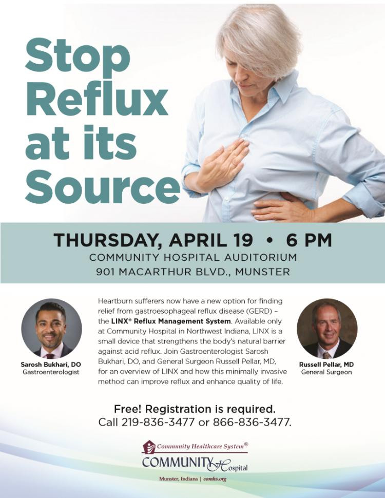 Stop Reflux at its Source