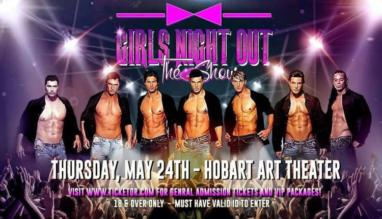Girls Night Out, The Show at Hobart Art Theatre