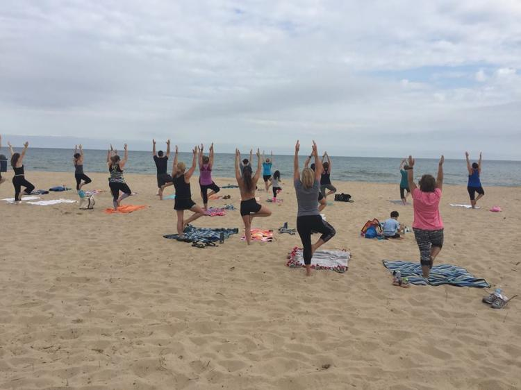 Beach Yoga & Beach Boot Camp