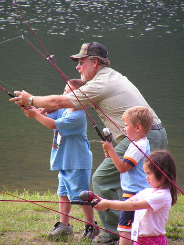 Kid's FREE Fishing Derby