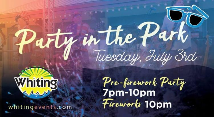 July 3rd Party in the Park in Whiting
