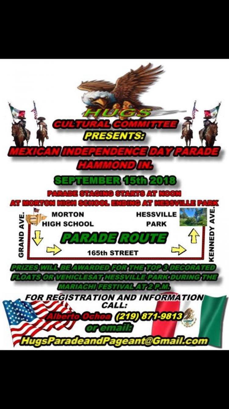 2nd Annual Mexican Independence Parade in Hammond