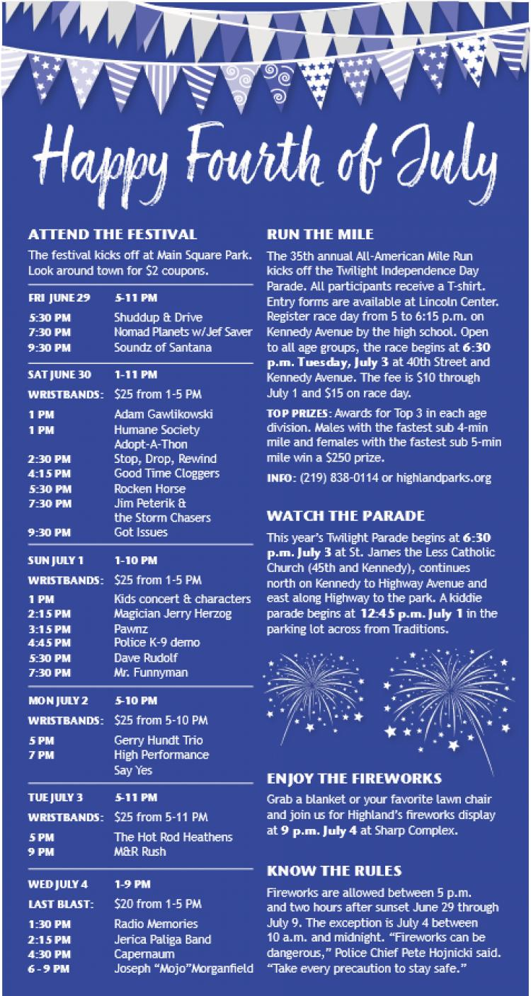 Highland 4th of July Festival