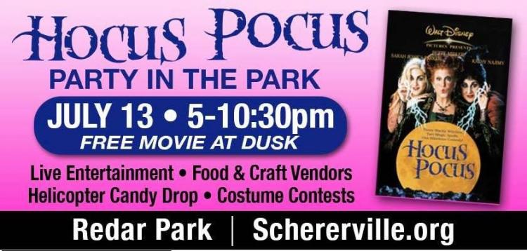 Hocus Pocus Movie Party in the Park