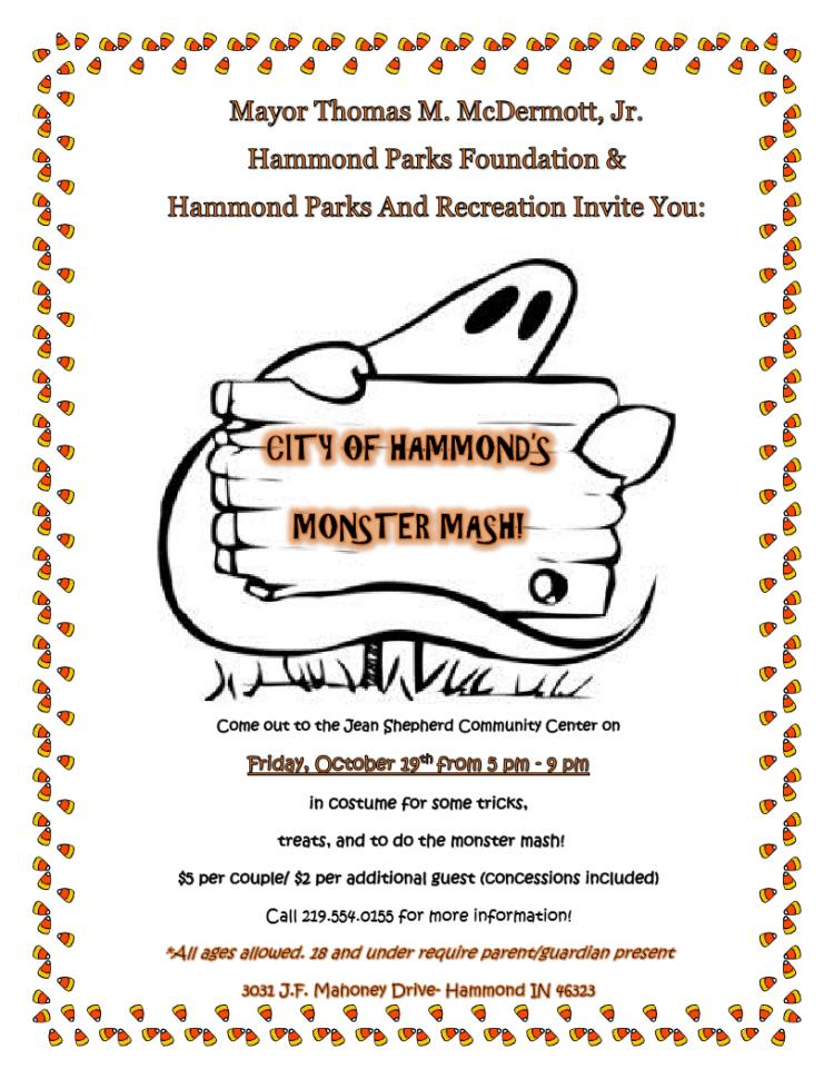 Hammond Monster Mash- A Halloween Celebration