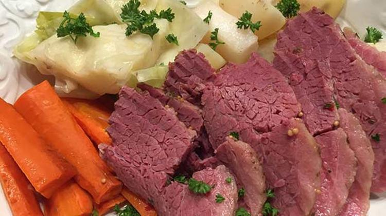 Corned Beef & Cabbage Dinner at CP Fire Station
