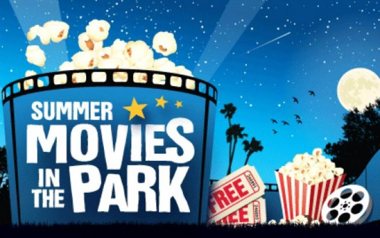 Movie in the Park in Dyer