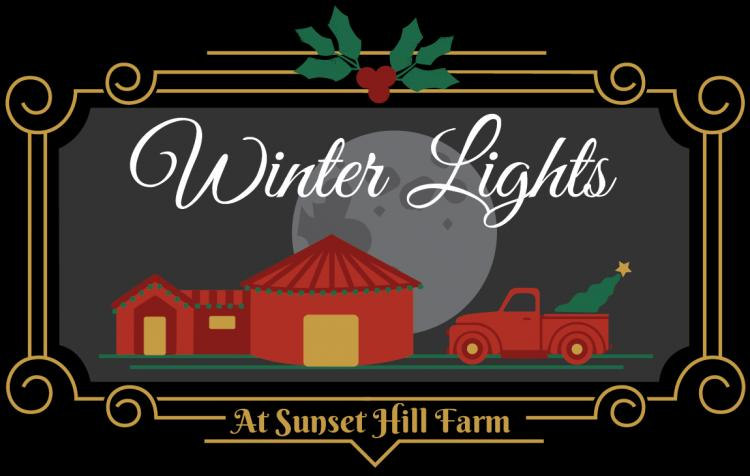 Winter Lights Display at Sunset Hill