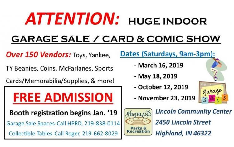Community Garage Sale in Highland