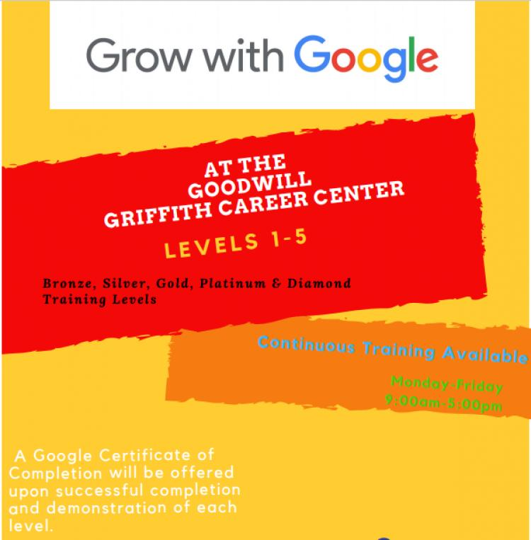 Grown With Google at Griffith Career Center
