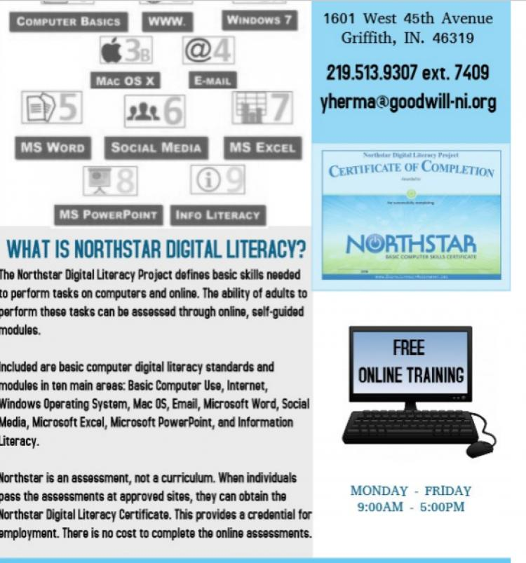Northstar Digital Literacy Training