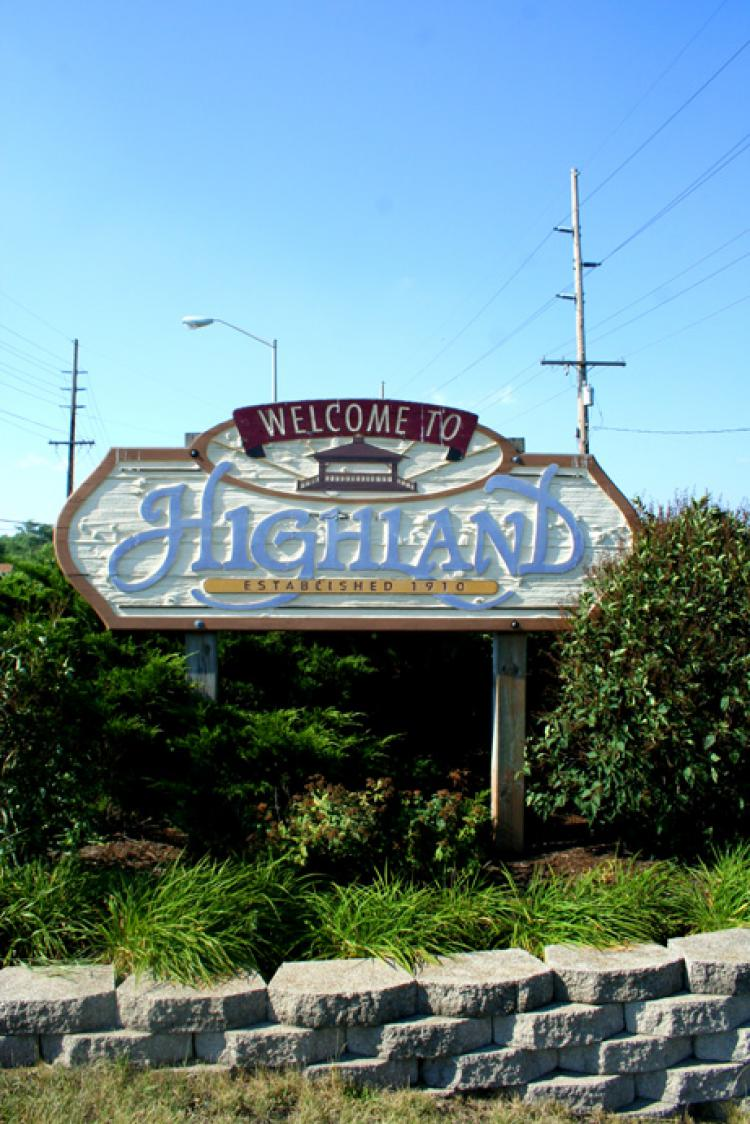 Highland Town Council Meetings