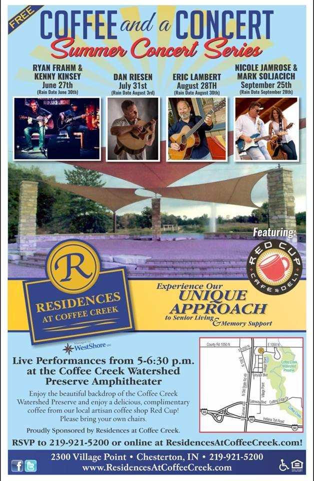 Coffee and a Concert- Summer Concert Series