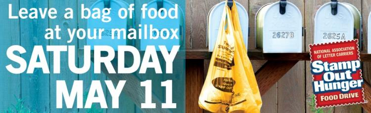 Stamp Out Hunger Day!