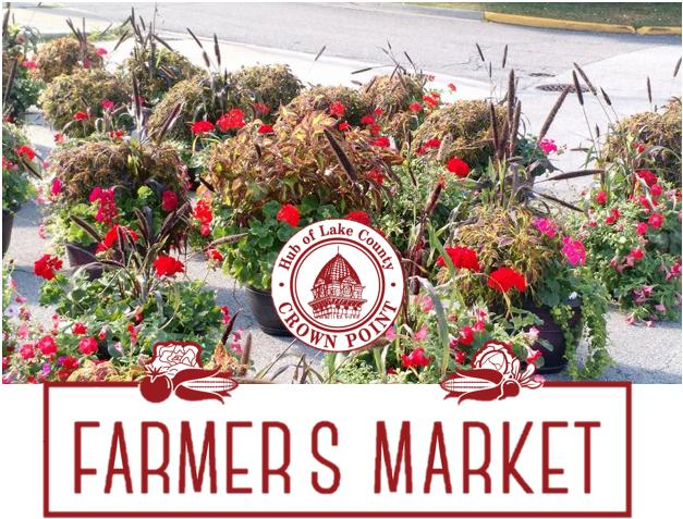 Saturday Farmer's Market in Crown Point