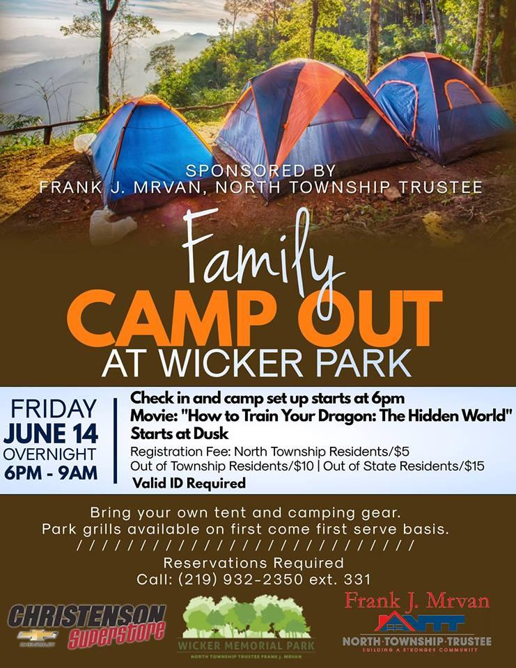 Family Camp Out at Wicker Park