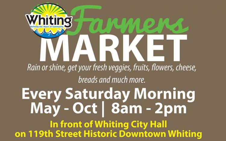 Whiting's 2019 Farmers Market