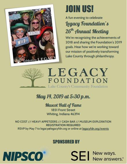 Legacy Foundation 26th Annual Meeting