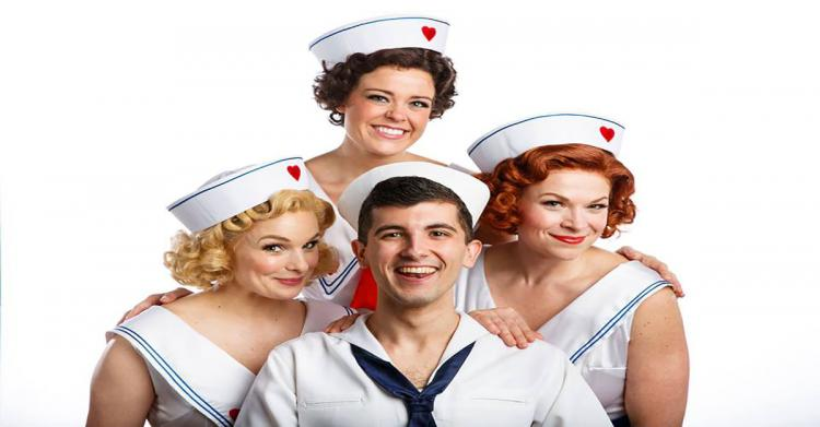 Dames at Sea at Theatre at the Centre