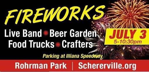 28 Food Trucks & Fireworks in Schererville