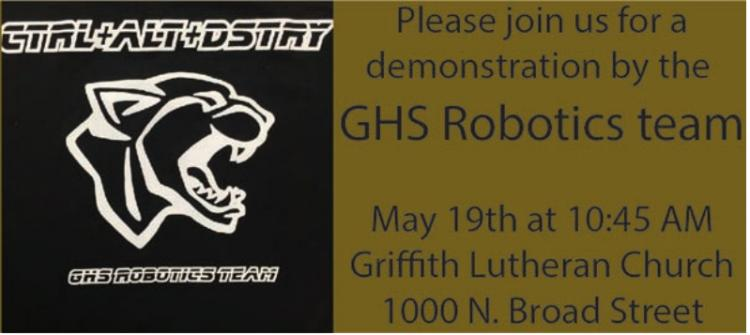 GHS Robotics Team Demo