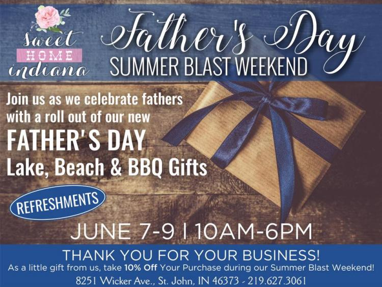 Father's Day Summer Blast Weekend at Sweet Home Indiana