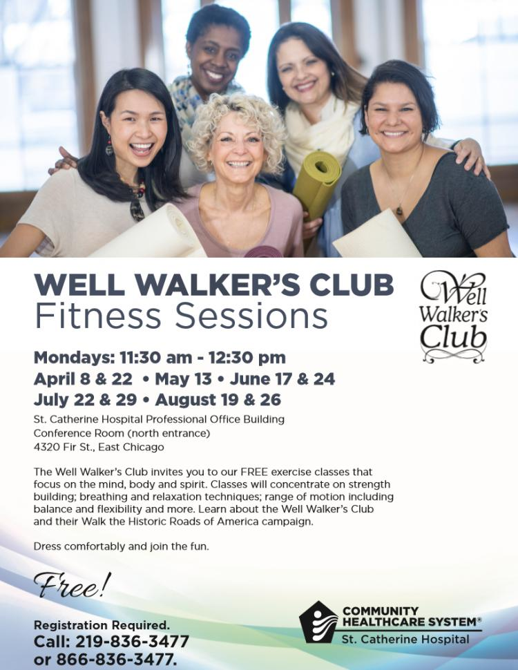 Well Walker's Club Fitness Sessions