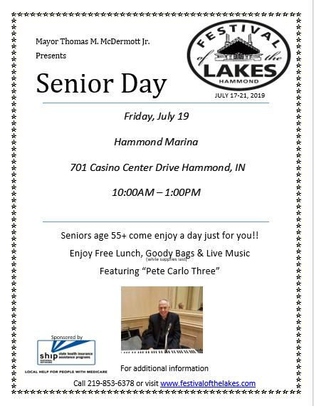 Senior Day at Festival of the Lakes