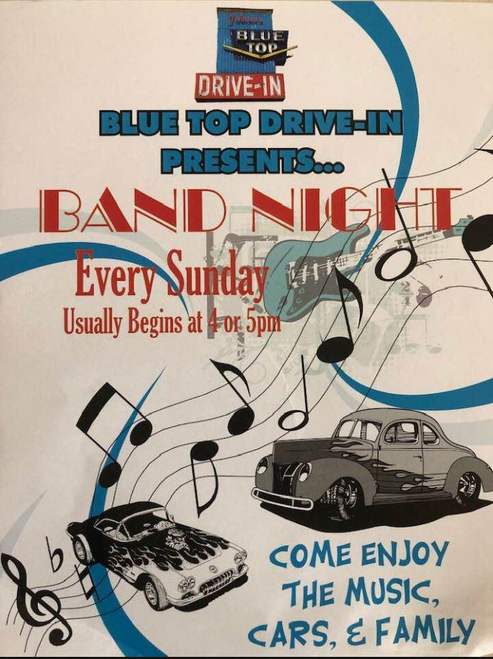 Band Night at Blue Top