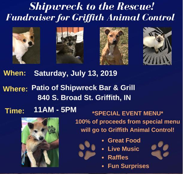 Fundraiser for Griffith Animal Control