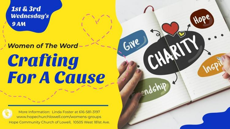 Crafting for a Cause
