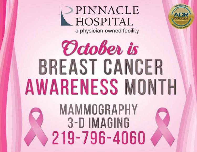 Schedule Your Mammogram at Pinnacle Hospital