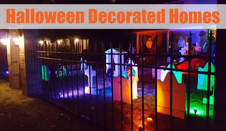 Decorated Halloween Homes in Northwest Indiana   🎃👻🦇🕸💀🕷🧛‍