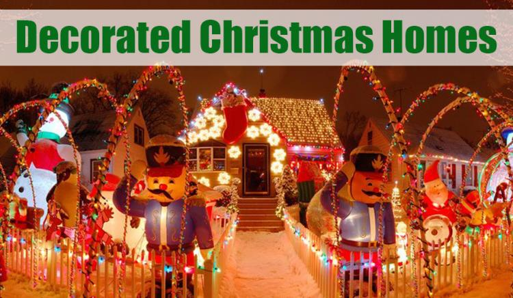 Decorated Christmas Homes in Northwest Indiana!