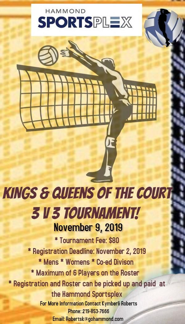 Kings & Queens of the Court 3v3 Tournament