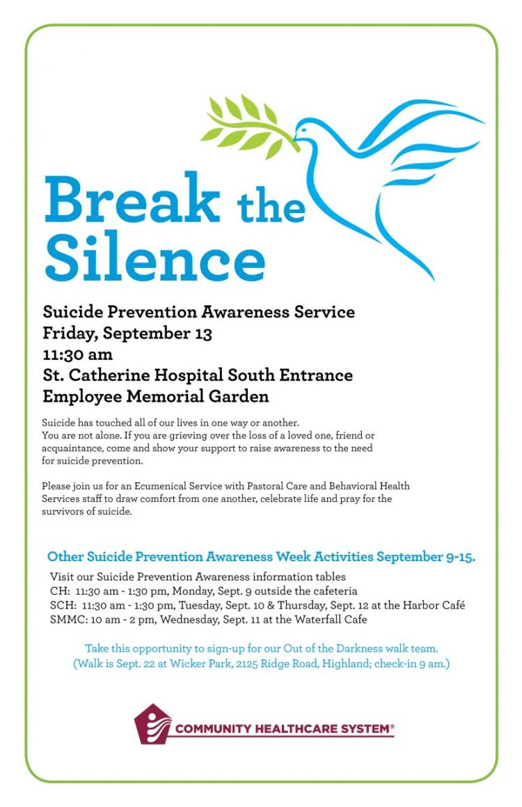 Suicide Prevention Awareness Service