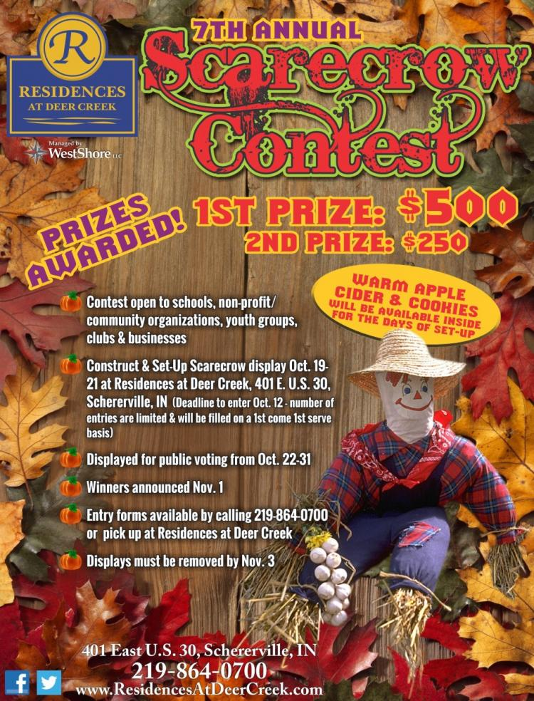7th Annual Scarecrow Contest