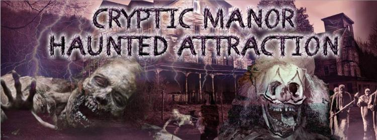 Cryptic Manor Haunted Attraction in Gary