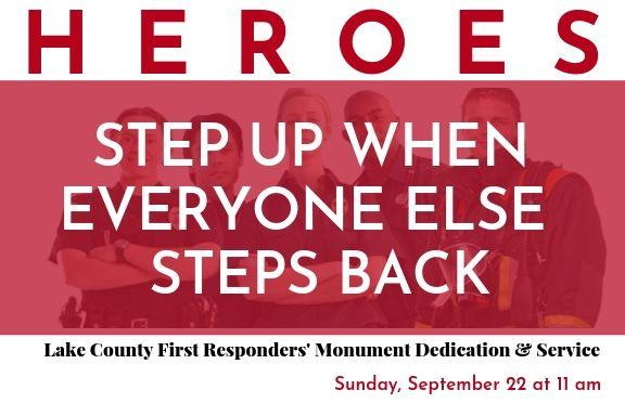 First Responders Monument Dedication & Service