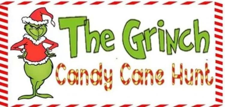 Grinch Candy Cane Hunt (Ages 3-5, 6-9, 10-13)
