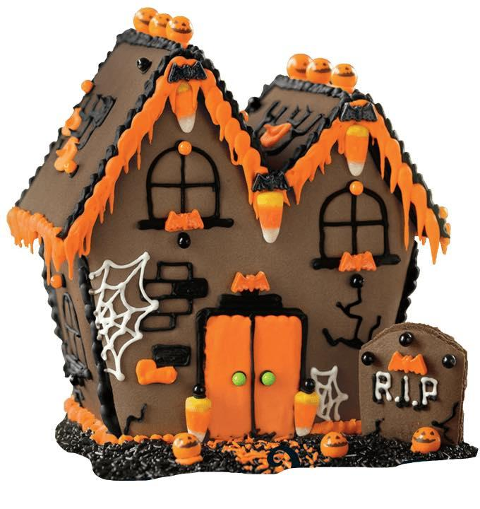 Haunted Halloween Gingerbread Houses (Ages 7-13)