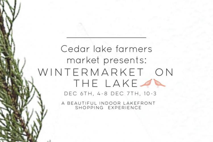 Winter Market On The Lake