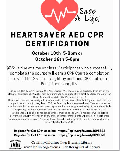 Heartsaved AED & CPR Certification