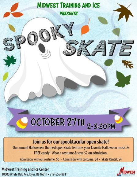 Spooky Skate at Midwest Training Center
