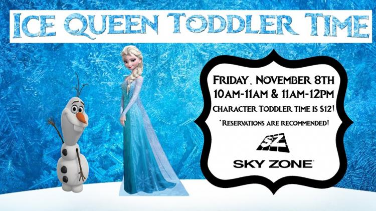 Ice Queen Toddler Time
