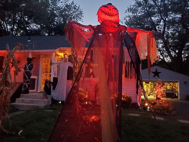 Decorated Halloween Home- 310 Oak Circle, Crown Point