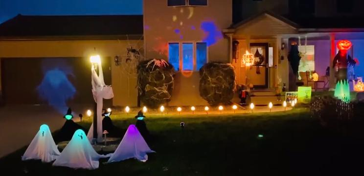 Halloween Decorated Home- 2230 St. Francis Dr.