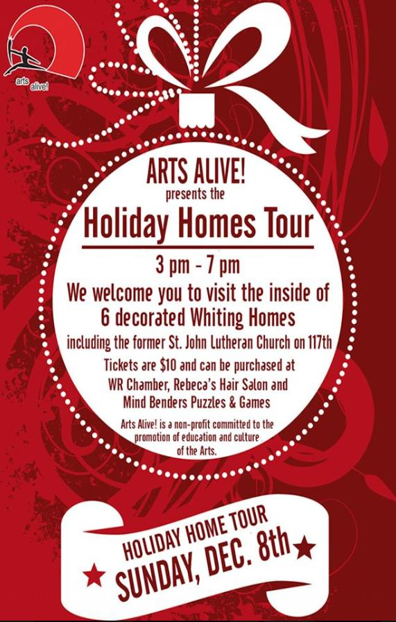Holiday Homes Tour in Whiting
